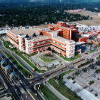 Aerial view of bet体育 VA Medical Center