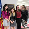 TWU Occupational Therapy students in D.C.